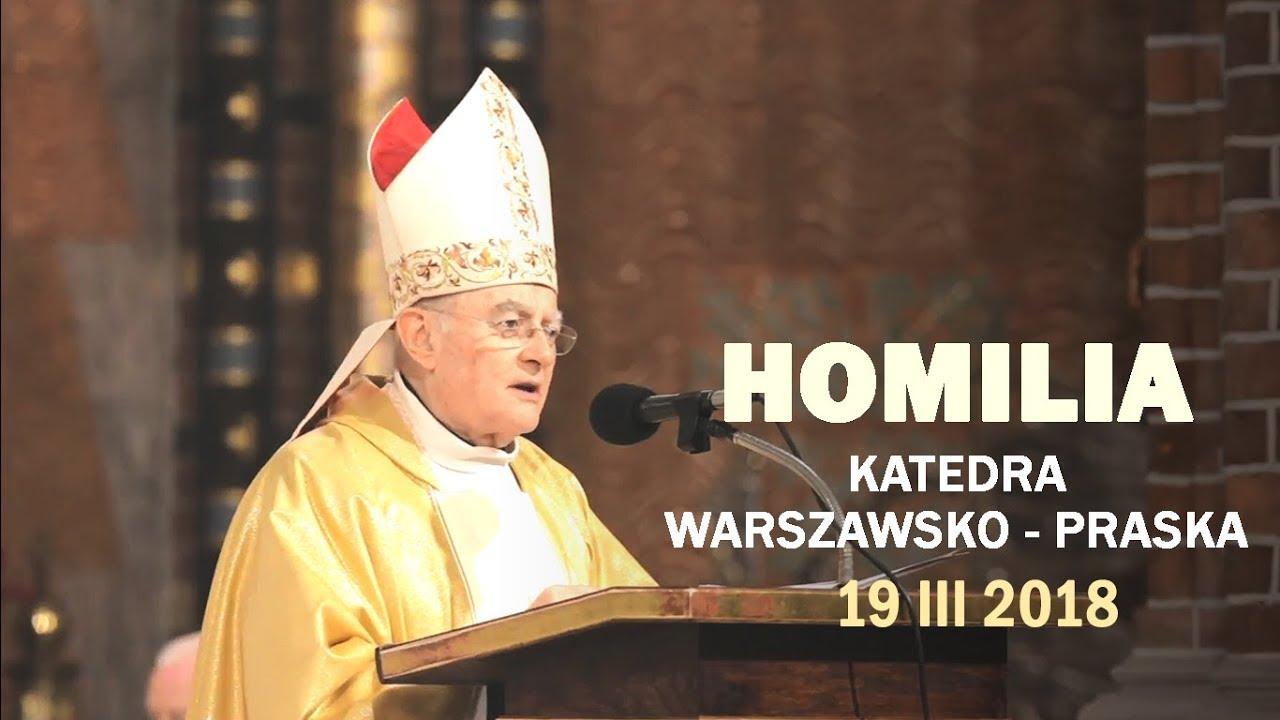 Abp H. Hoser SAC: Wzywajmy obecności Świętej Rodziny (19 III 2018 r.)