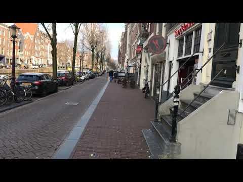 Red Light District / De Wallen Amsterdam 5 februari 2018