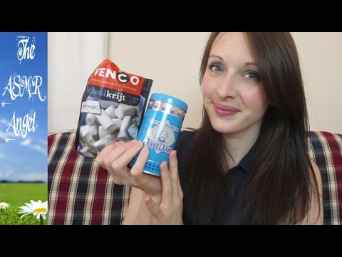 ASMR Soft Spoken Unboxing & Eating Candy from Holland (Part 1)