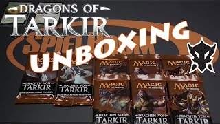 Dragons of Tarkir / Drachen von Tarkir - Booster Unboxing 3 - SpielRaum Wien [DE]