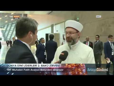 Dünya Dini Liderleri  2. Bakü Zirvesi