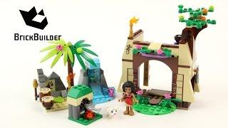 Lego Moana 41149 Moana's Island Adventure - Lego Speed Build
