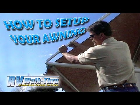 Rv Walk Thru Awnings Learn How To Set Up Your Awning