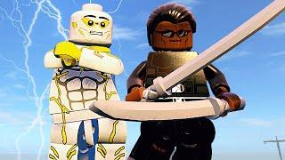 БОГ СКОРОСТИ И БЛЕЙД в LEGO Marvel