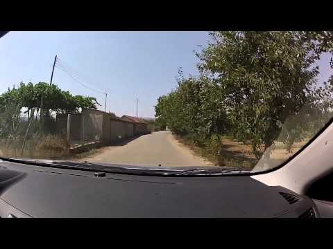 Tripoli - Kandalos, Arcadia (city, highway and mountain road driving, Greece) - onboard camera