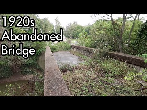 Exploring an Abandoned Bridge near Greenville Illinois