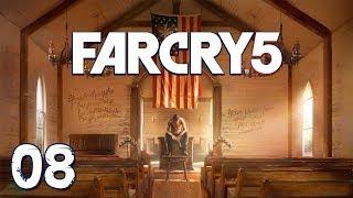 "Far Cry 5 - Прохождение pt8 - Напарники: Акула ""Бошоу"", Персик, Аделаида Драбмен"
