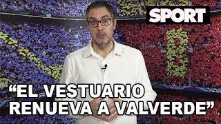 LLUÍS MASCARÓ VALORA LA RENOVACIÓN DE VALVERDE CON EL FC BARCELONA