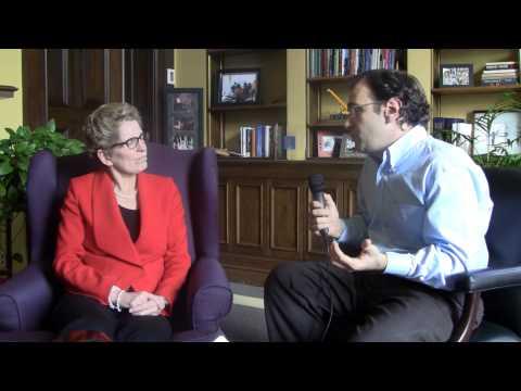 Interview with Premier Kathleen Wynne