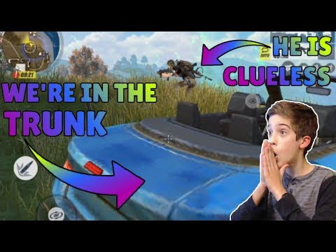 Rules of Survival - CAR CAMPING GLITCH WIN! HIDING IN THE TRUNK OF A CAR!
