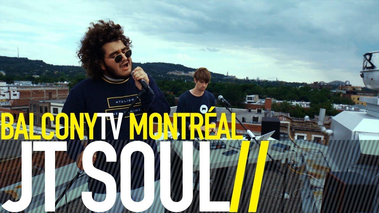 JT Soul performs live on Balcony TV