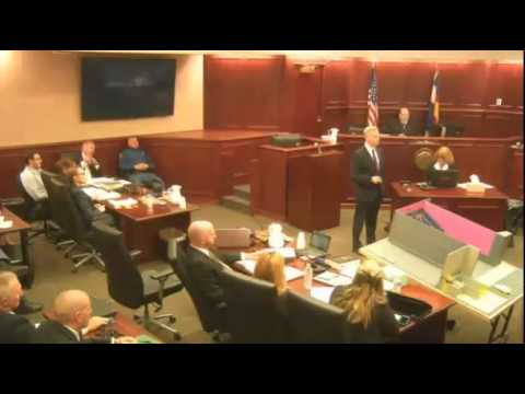 James Holmes Trial - Day 1 - Part 2 (Prosecution Opening Statements)