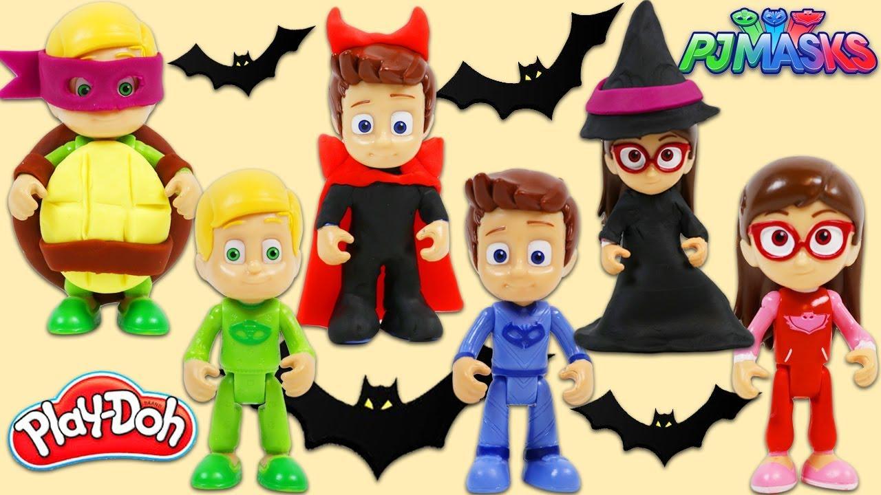 Pj Masks Halloween Costume.Diy Play Doh Halloween Costumes For The Pj Masks