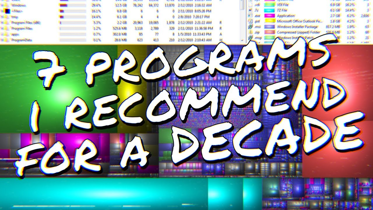 7 Programs I've Used for a Decade or More! - Top 7 Programs I'd Recommend  April 2019