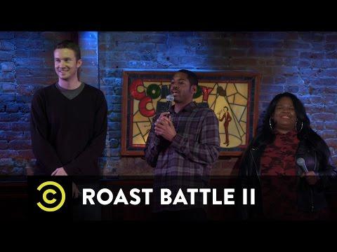 Roast Battle II: New York Regionals  Yamaneika Saunders vs. J.P. McDade  Uncensored