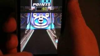 Iphone 3G Arcade Bowl Skeeball Game Review