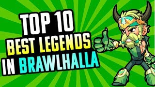 The Top 10 Best Legends in Brawlhalla