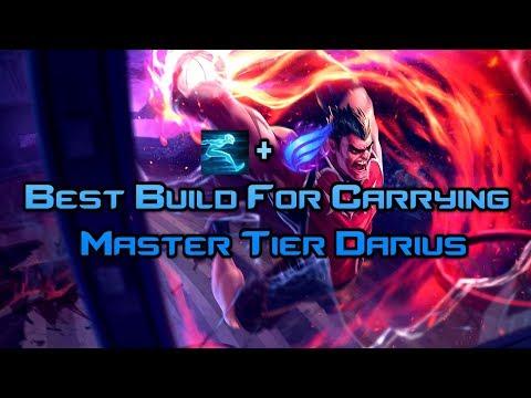 League Of Legends | PHASE RUSH + GHOST DARIUS Is Actually BROKEN | Master Tier | Season 8