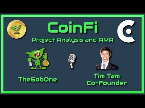 CoinFi - ICO/Project Review and AMA with Co-Founder Timothy Tam