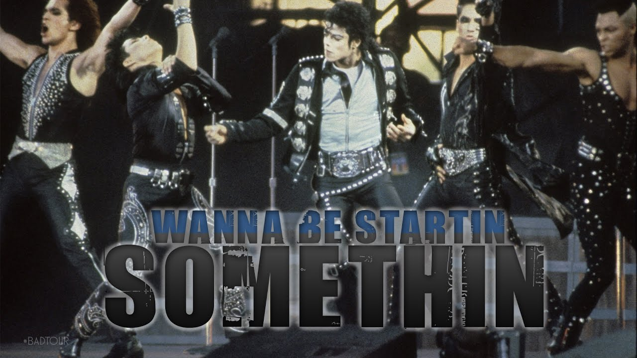 michael jackson wanna be startin somethin bad tour 1988 studio version youtube. Black Bedroom Furniture Sets. Home Design Ideas