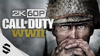 【決勝時刻:二戰】全章節電影剪輯版(中文字幕) - PC特效全開2K60FPS劇情電影 - Call of Duty: WWII  - 使命召唤14:二战 - 最強2K無損畫質
