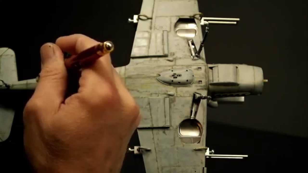 Окраска модели аэрографом видео #4