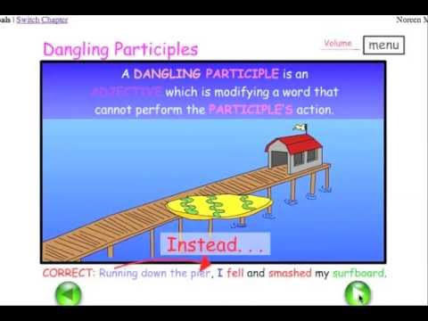 Dangling participles misplaced modifiers easy english grammar dangling participles misplaced modifiers easy english grammar youtube ccuart Gallery