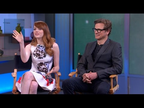 Colin Firth, Emma Stone on Working With Woody Allen