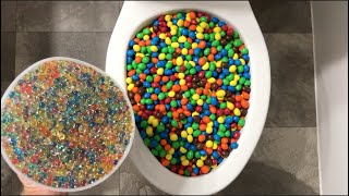Will it Flush? - M&M's and Orbeez