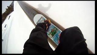 Snowboarding Bear Mountain - GoPro Chest Mount