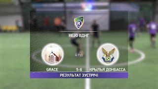 Обзор матча Grace Крылья Донбасса R CUP Турнир по мини футболу в Киеве