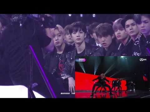 171201 WANNA ONE, DAY6 reaction to BTS
