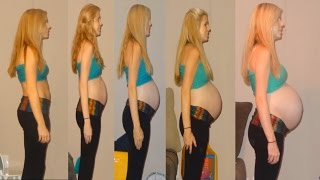 Pregnancy Time Lapse of Baby Klaire!