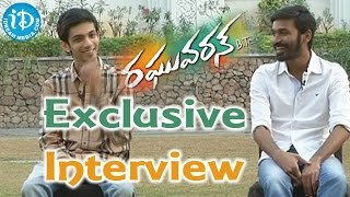 Dhanush and Anirudh Exclusive Interview - Raghuvaran B.Tech Movie