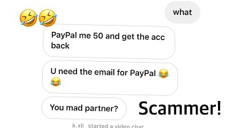 So this fortnite account seller tried scamming me and this happened.. (Must Watch)