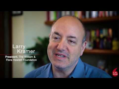 Larry Kramer: We Are the Humanities