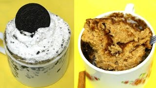 1 Minute Mug Cake: 2 Different Flavors (Eggless)  - in the Kitchen With Jonny Episode 83