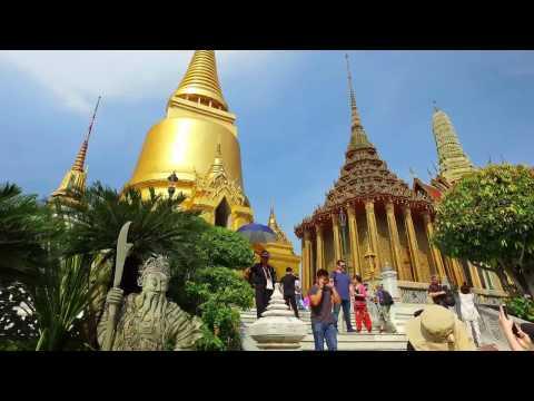 The Grand Palace (Königspalast) Bangkok (4K)
