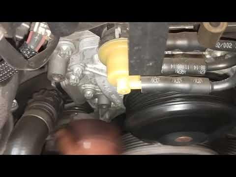 Mercedes-Benz C250 -  Water Pump Pulley Noisy