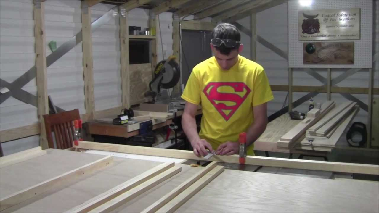 Part 1 Building A Side Mount Murphy Bed By A Simple