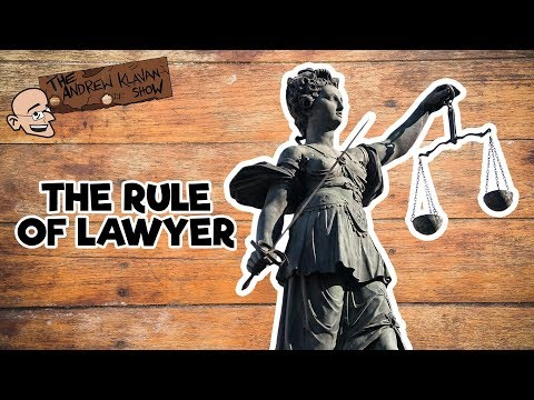 The Rule of Lawyer |  The Andrew Klavan Show Ep. 659