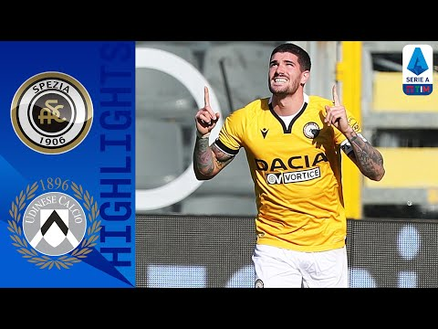 Spezia Udinese Goals And Highlights