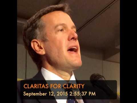 CLARITAS FOR CLARITY