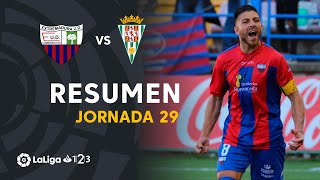 Resumen de Extremadura UD vs Córdoba CF (3-0)