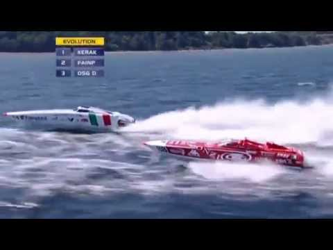 Aerial Cameraman Offshore Power Boats