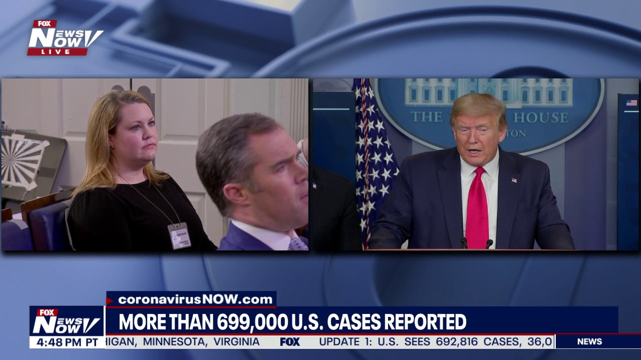 QUESTION AND ANSWER: President Trump returns to Friday's briefing