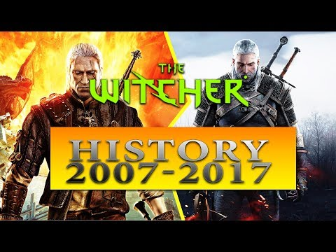 WITCHER   All Witcher Games In One Video