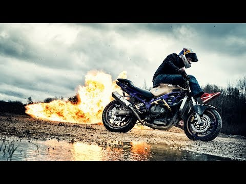 Explosion photoshoot with Mike Jensen