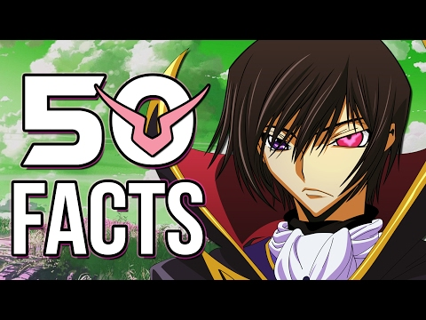 50 Things You Probably Didn't Know About Code Geass: Lelouch of the Rebellion! (50 Facts)
