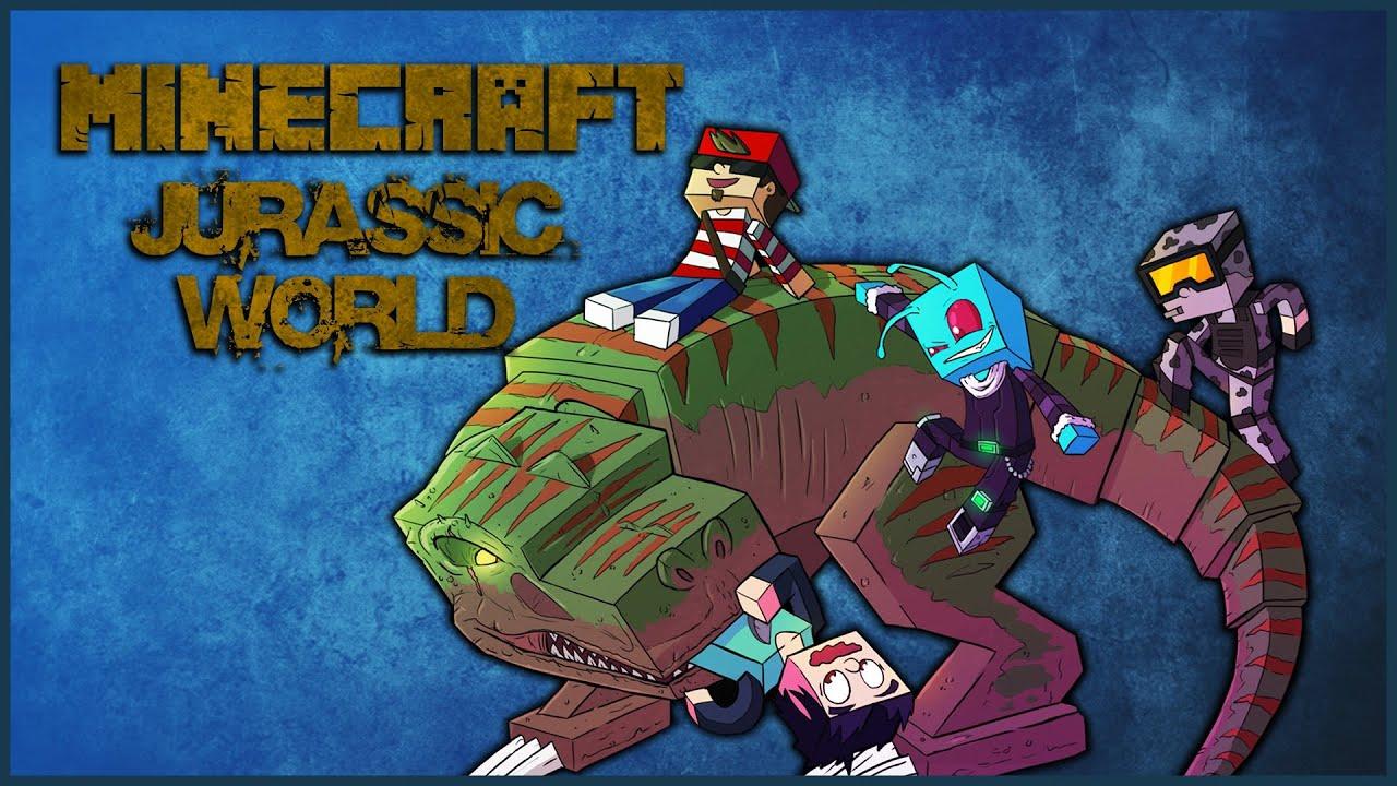 minecraft jurassic craft server
